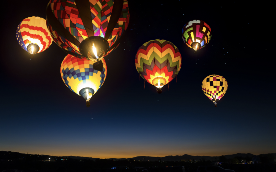 Top ballooning experiences